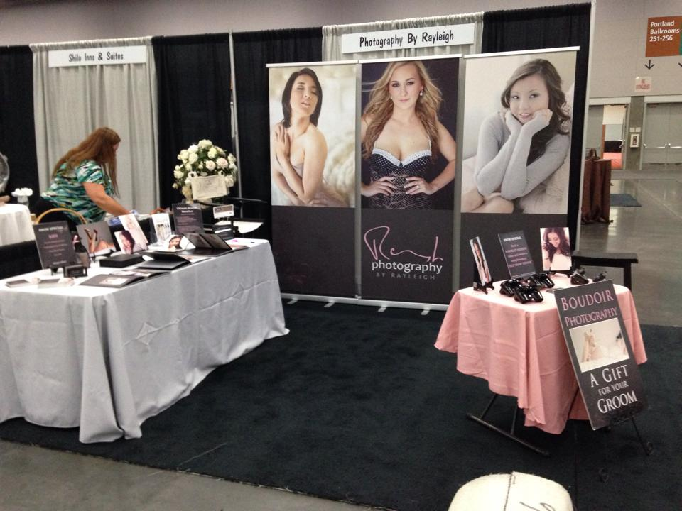 boudoir photography portland oregon bridal show